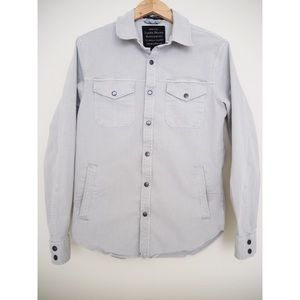 Lucky Brand Shirts - Lucky Brand Stretch Twill Shirt Jacket